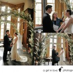 A Girl In Love Photography Pendleton Room ceremony